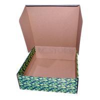"""Подарочная коробка """"камуфляж"""" 28*30*10 см_1"""